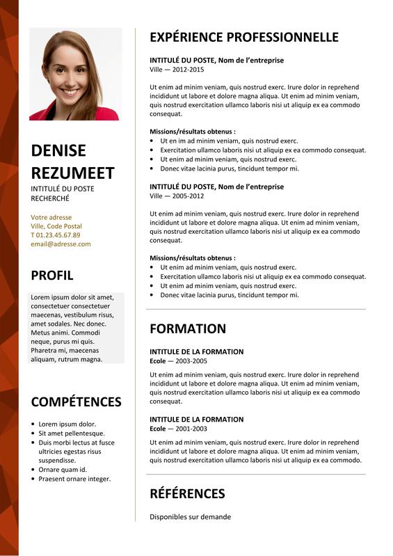 Dalston - Modèle de CV Elegant | Rezumeet.com