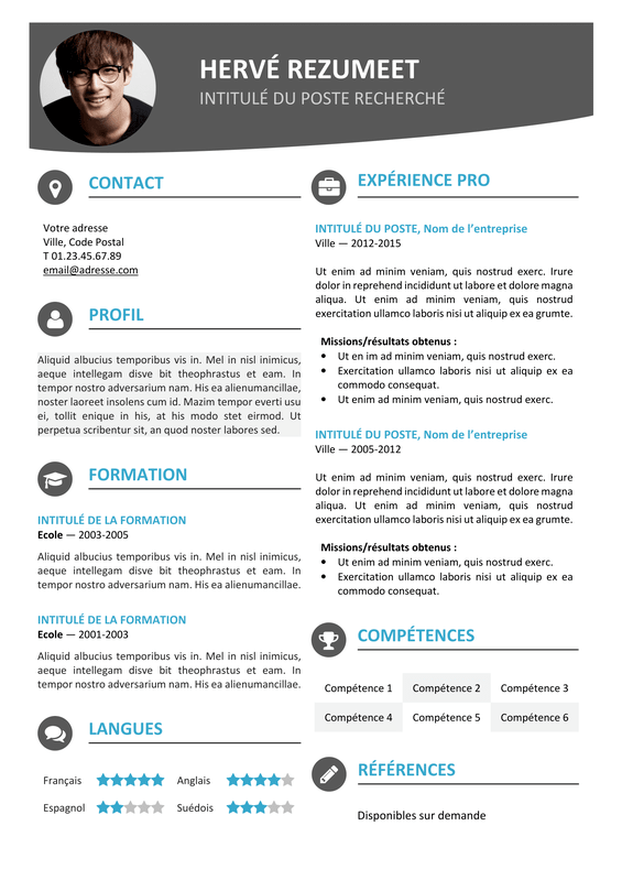 One page resume maker